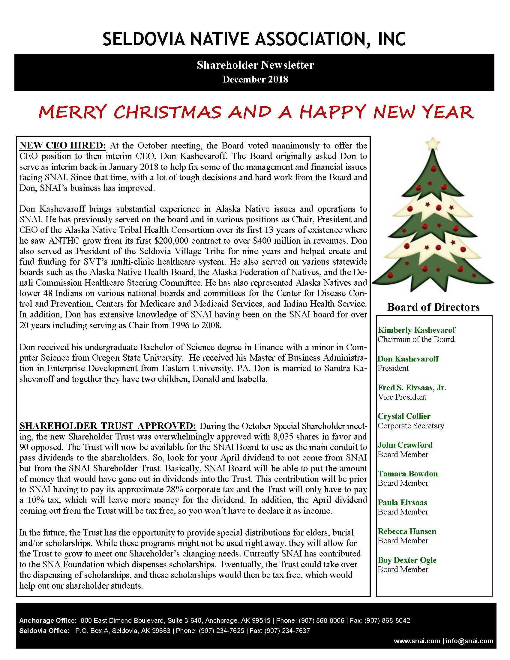 Dec2018 – ShareholderNewsletter_Page_1